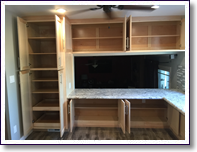 Custom Cuts Construction contractor - cabinets